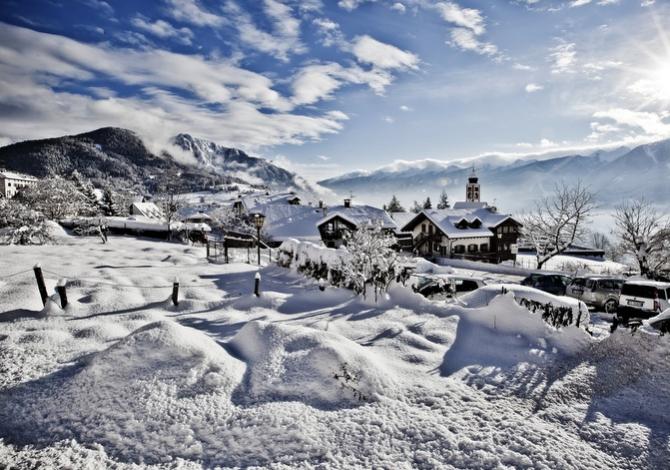 Snowy Val di Fassa