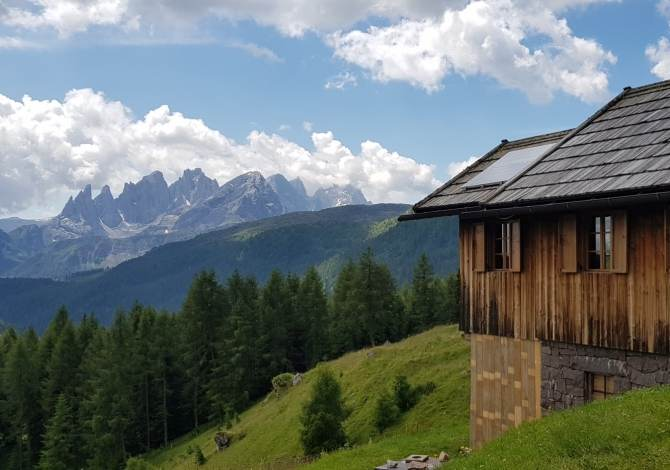 Mountain hut in the Dolomites