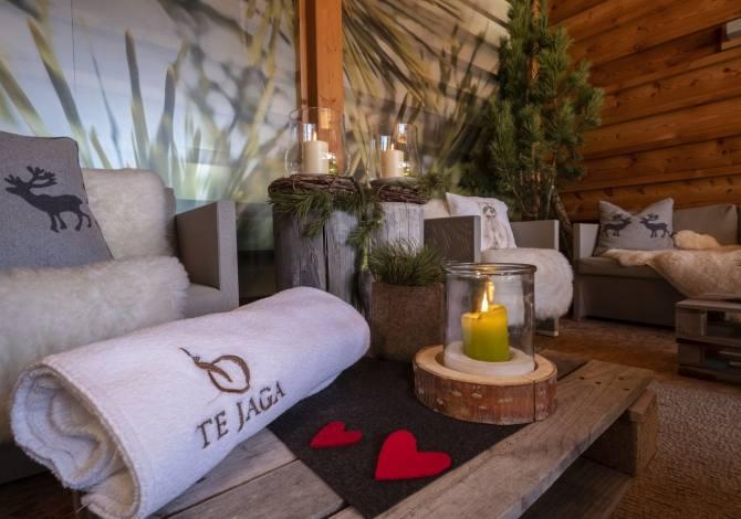 Area relax della SPA Te Jaga