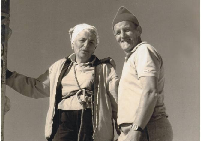 Omi Paola und Opa Carlo Pellegrin