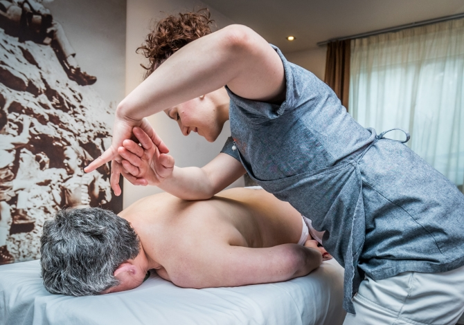 Massages in the Te Jaga SPA