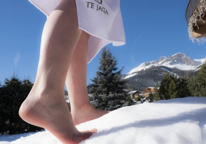 Kneipp in the snow