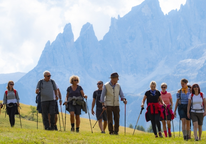 Nordic Walking im Trentino